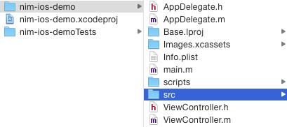 Creating script folders